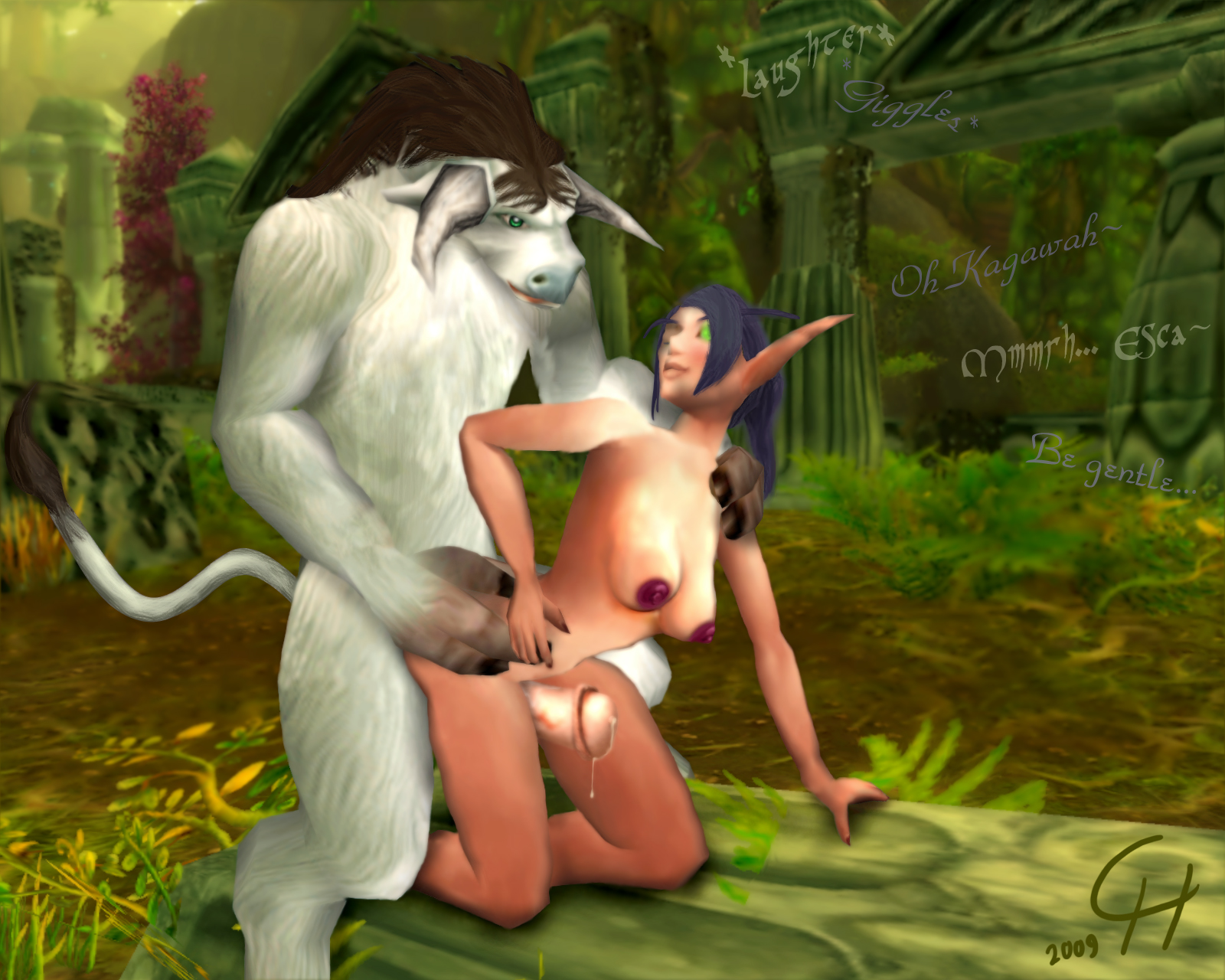 Taurens and elves sex nsfw pic