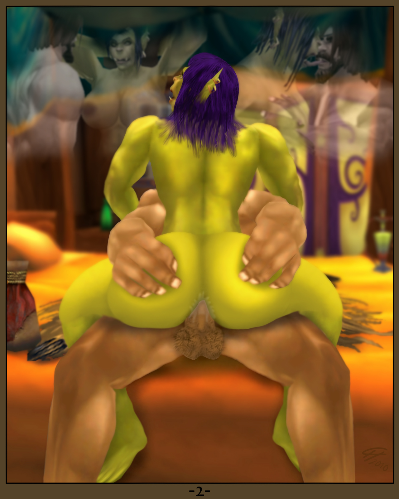 Orc fuck nightelf wow nude pic