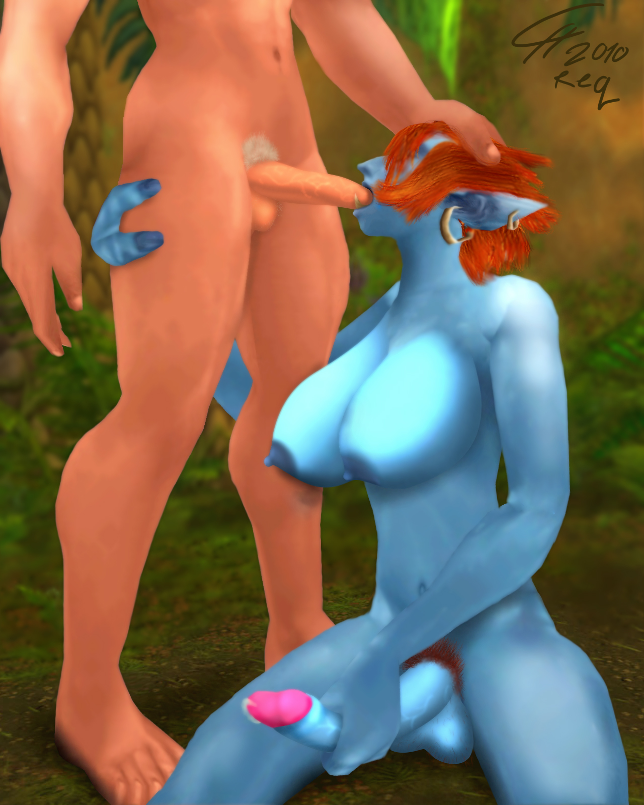 Free nude elfin 3d video exposed clip