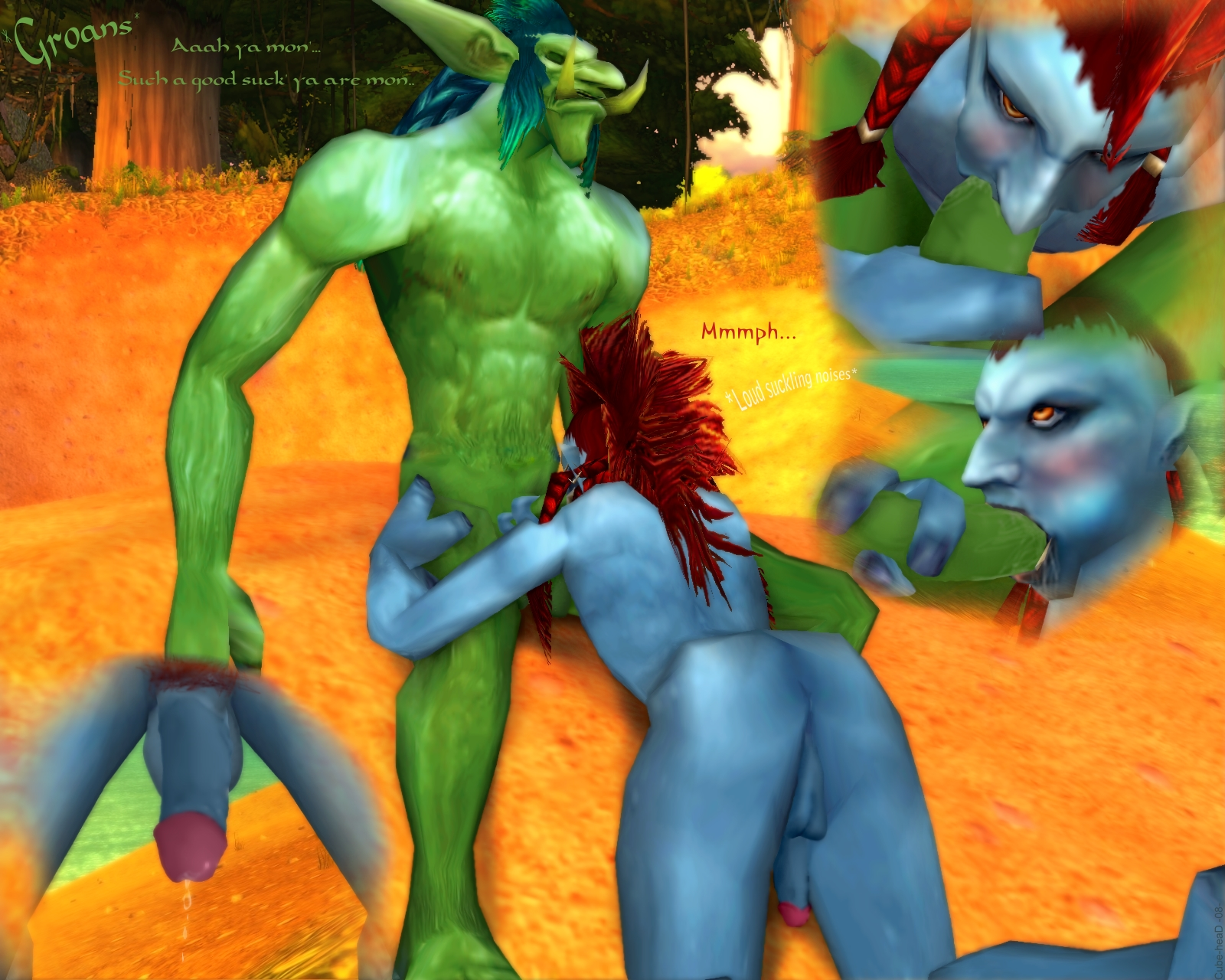 Warcraft jizz art erotica scenes