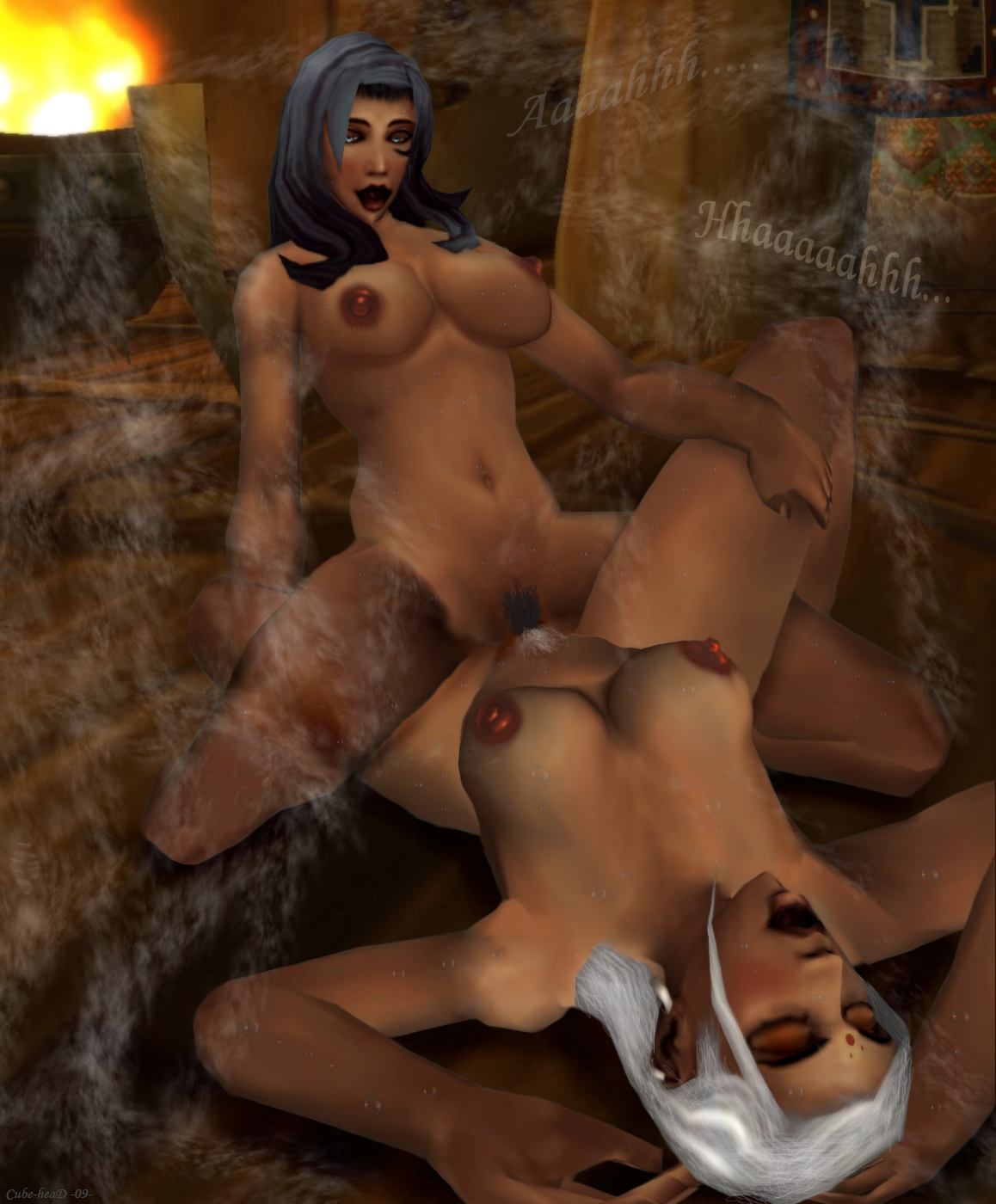 Nude elf galleries exposed scene