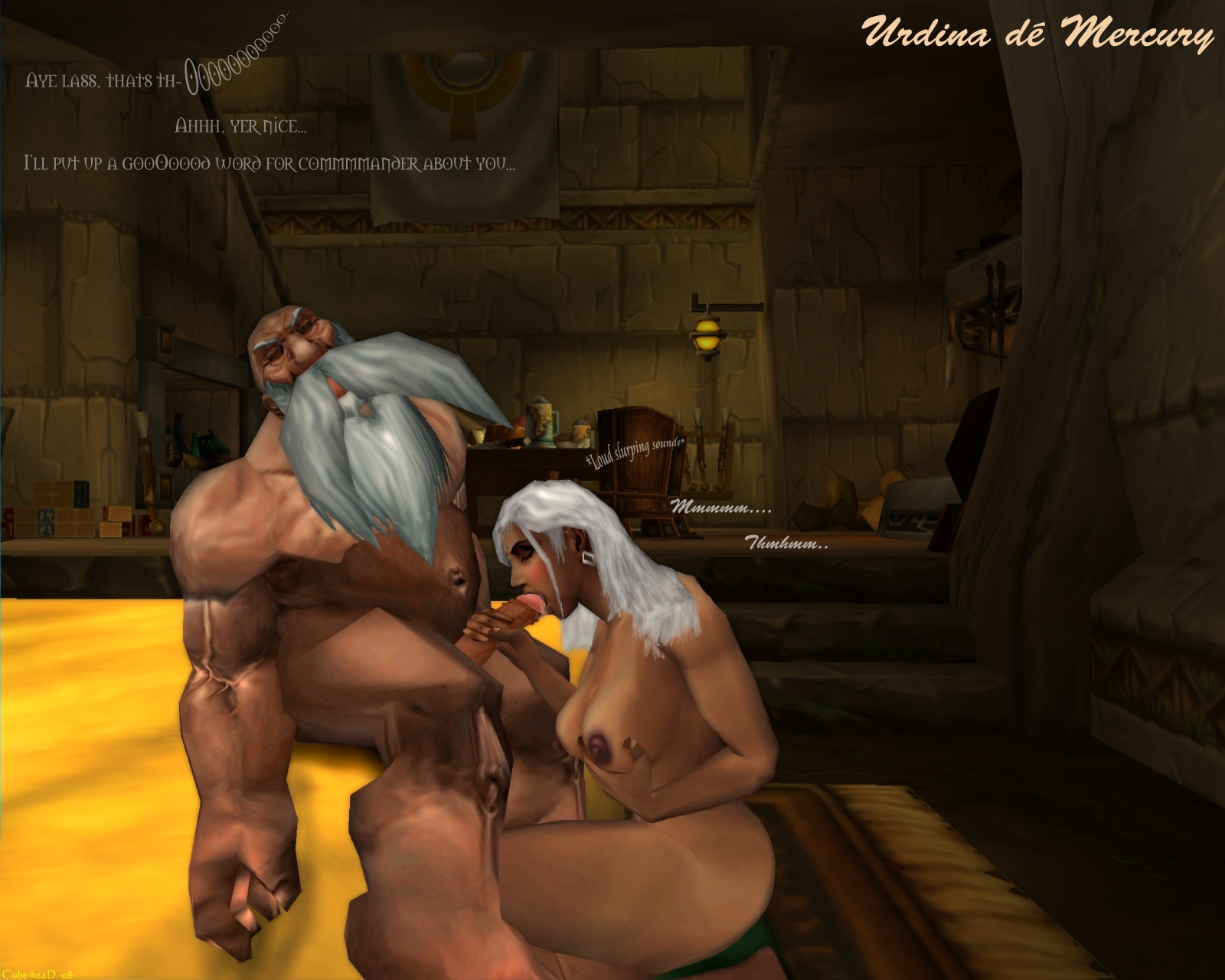 Warcraft warriors sex scene erotic clips